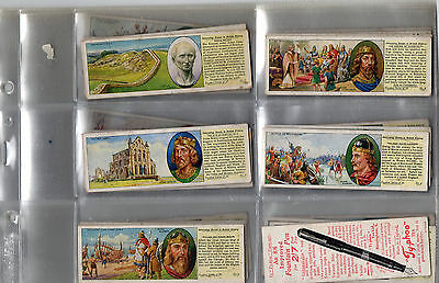 tea cards interesting events in british history 1938 full set