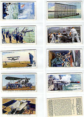 cigarette cards life in the royal navy 1939 full set