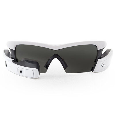 06 Recon Occhiali Jet Smart Eyewear GPS Bluetooth ANT+, White