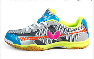 Butterfly Table Tennis Shoes / Trainers: UTOP-6, Colorful Yellow, New