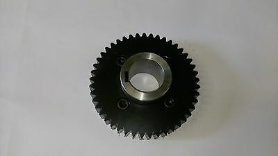 Hunkeler air shaft drive gear and hub replacement