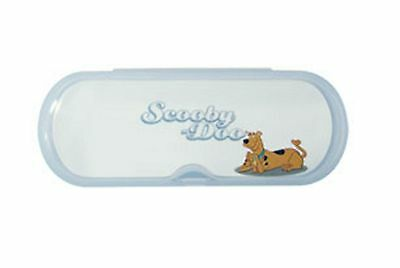 Scooby Doo Hard Plastic Clear Glasses / Spectacle Case Cartoon Retro