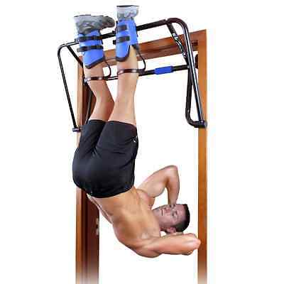 Fitness Hang Up Inversion System Gravity Boots Lumber Support Weights Teeter