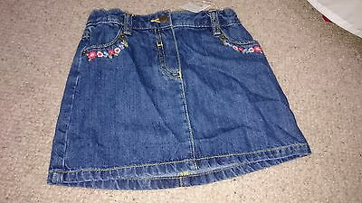 Brand New with tags Cath Kidston Denim skirt size 2-3 years