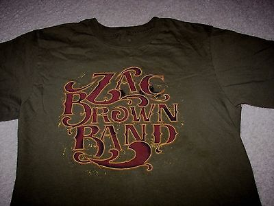 Zac Brown Band 2012 Tour T-Shirt Size Small