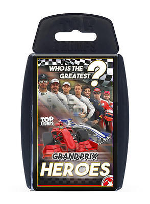 Top Trumps Grand Prix Heroes Edition Card Game New & Sealed