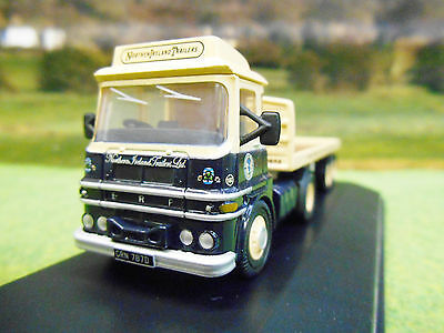 Oxford Erf Lv Flatbed Artic Lorry Northern Ireland Trailers 1/76 76Lv004