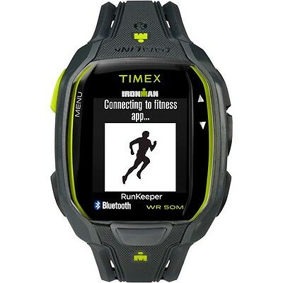 06 Timex Ironman Run X50 GPS Activity Tracker, Charcoal/Green