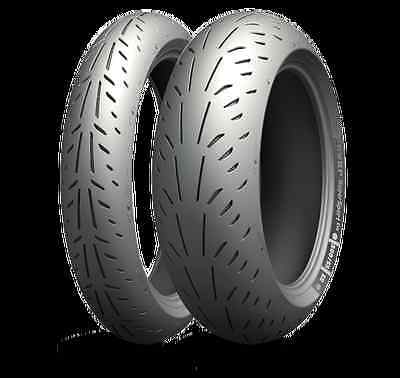 Michelin Power Supersport EVO Motorcycle Tyre  Rear 200/55 ZR 17 (78W) TL