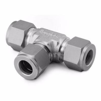 Swagelok SS-20M0-3 Stainless Steel Union Tee 20mm Tube Fitting