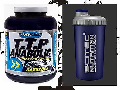 NRG Fuel T.T.P Anabolic Hardcore Muscle Protein 3.6kg & FREE SHAKER & SAMPLE!!!