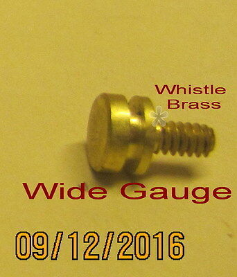 American Flyer Wide Gauge Trim – Whistle (Brass (NEW)