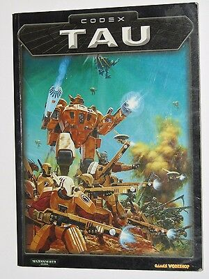 Codex Tau Warhammer 40k Games Workshop 3rd Edition