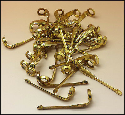Special Gold Filled Set of 36 CLIPS Universal for Parker Aero & Vacu Pens (4012)