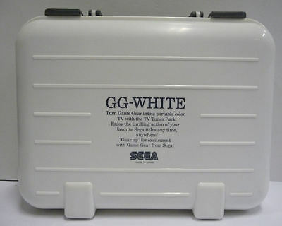 Console Sega Game Gear White Special Limited Edition Ntsc Japan Boxed Very Rare