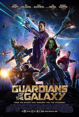 Guardians Of The Galaxy Movie Poster Film A4 A3 Art Print Cinema #2