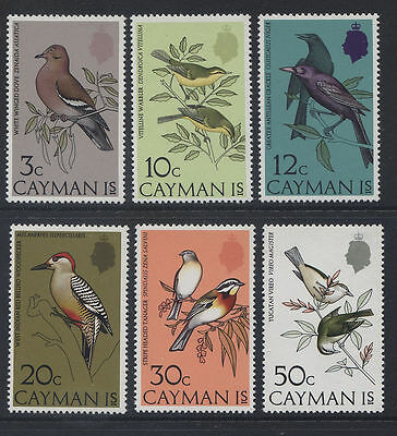 Cayman Islands 1974 Birds MNH