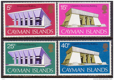 Cayman Islands 1972 New Government Buildings MNH