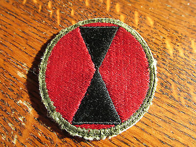 WW2 US Army 7th  infantry division  patch  Premium Quality