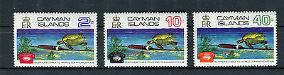 Cayman Islands 1972 Co-axial Telephone Cable MNH