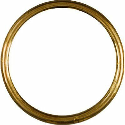 """Stanley National Hardware 3156bc 2"""" Ring In Solid Brass"""