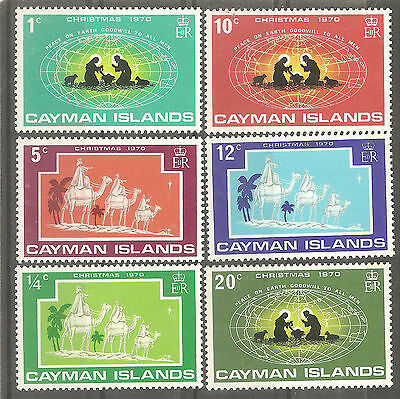 Cayman Islands 1970 Christmas MNH