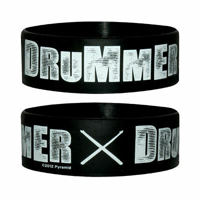 Official Drummer - Rubber Gummy Wristband