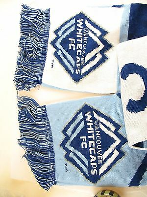 Vancouver Whitecaps soccer Scarf Mike's hard lemonade new in package