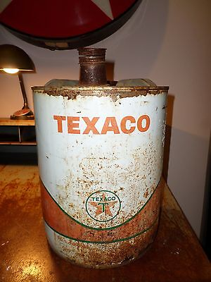 Vintage Texaco Oil 5g Can