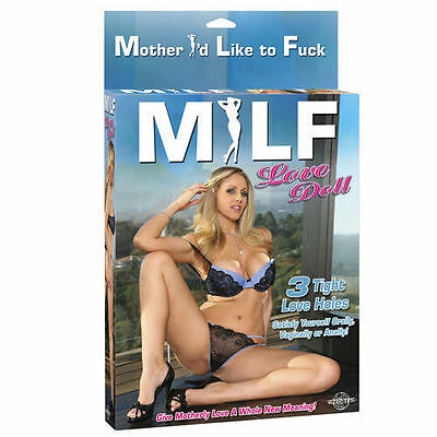 MILF Inflatable Blow Up Doll Novelty Gift Funny Adult Gift Hen Stag Party