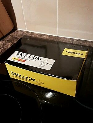 Road Pedals Mavic Zxellium SLR with Carbon Pedal body & iClick Cleats Brand New