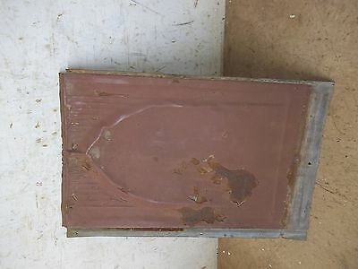 30 Old Fancy Embossed Tin Roofing Shingles for Decor