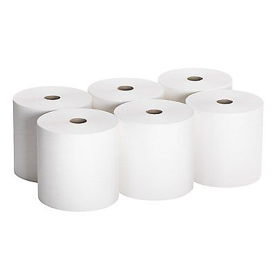 Georgia-Pacific Envision 26601 White High Capacity Roll Towel, (Case of 6 Rolls)