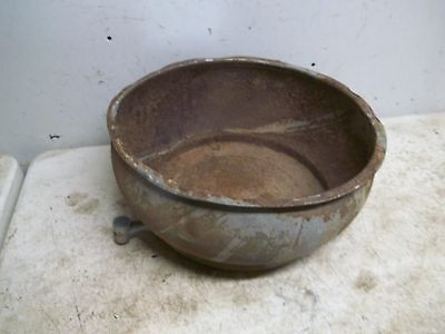 Lot A Rusty Rough Old Cream Separator Strainer Bowl Flower Pot Garden Planter