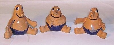 50's Michael Bentine's  Bumblies TV character lead figures H R Product Reynold's