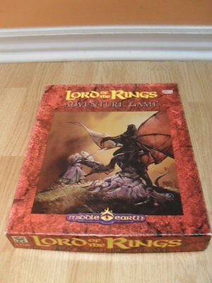 Lord of the Rings Adventure Game - Roleplaying game