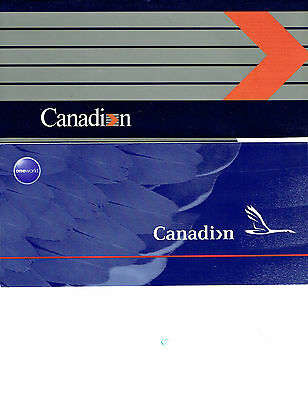 Canadian Airlines Ticket Jacket - FREE SHIPPING
