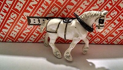 Britains #2111 White Clydesdale 1992