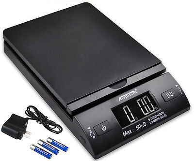 Accuteck 50lbx0.2oz All-In-One PT50 Digital Shipping Postal Scale W/AC Postage