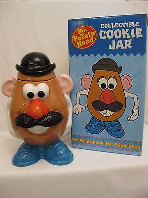 Vintage New Mr Potato Head Cookie Jar- NIB