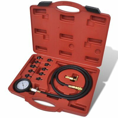 New Car Truck Engine Oil Pressure Test Tool Kit Tester Gauge Diagnostic Auto Set