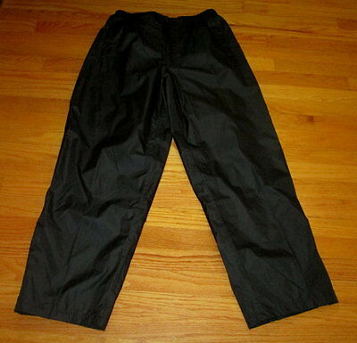 WOMENS Orlimar Cyclone Black Rain Pants Size Large