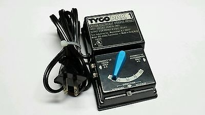Tyco Pak 1 HO Model RxR Train Power Supply Transformer Tested Works Free S&H