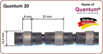 Diamond Wire for Construction Sawing - Quantum C20 (Masonry #1 choice!)
