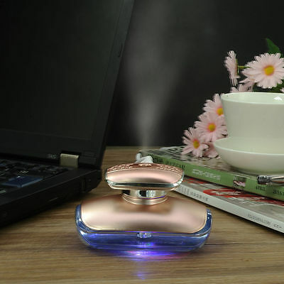 Creative Humidifier Air Purifier Essential Oil Aroma Diffuser Perfume Bottle New
