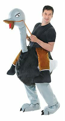 Step In Emu Ostrich Adult Unisex Animal Wild West Fancy Dress Costume Outfits