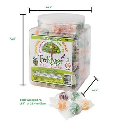 Ruger 400436 Tree Hugger Tubs Bubble Gum with Citrus Berry Assortment, 120 Count