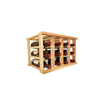 Wine Cellar Innovation Mini Stack Series Bin Storage Wine Rack, Unstained