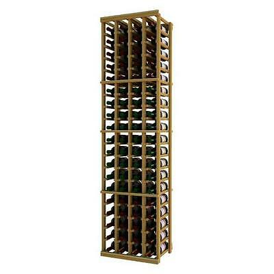 Wine Cellar Innovation Premium Redwood Designer Series 4 Column Individual Ra...