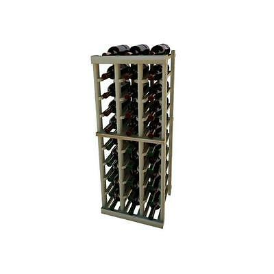 Wine Cellar Innovation Premium Redwood Vintner Series 3 Column Individual Rac...